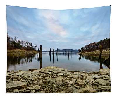 The Bottom Of The Lake Tapestry