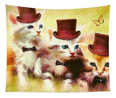 The Boys Club Tapestry