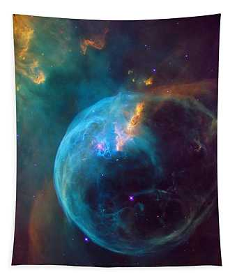 The Bubble Nebula Ngc 7653 Tapestry