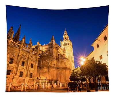 The Cathedral Of Seville Tapestry