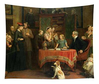 The Census Of April The 8th 1861 Tapestry