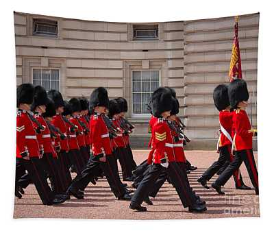 The Changing Of The Guards Tapestry