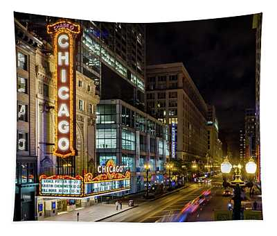 Illinois - The Chicago Theater Tapestry