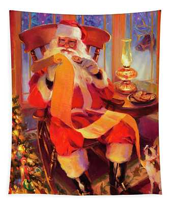 The Christmas List Tapestry