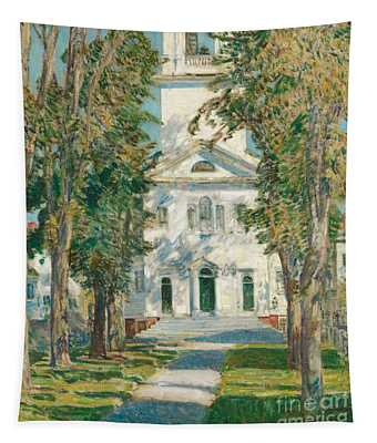 The Church At Gloucester, 1918 Tapestry