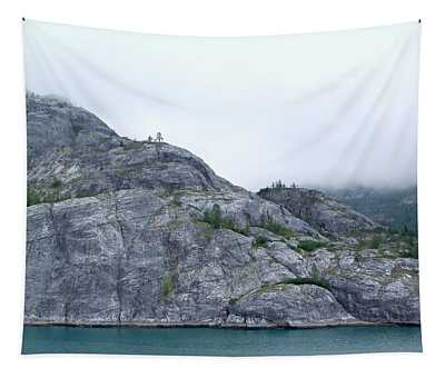 The Cliffs Of Glacier Bay Tapestry