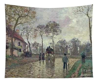 The Coach To Louveciennes Tapestry