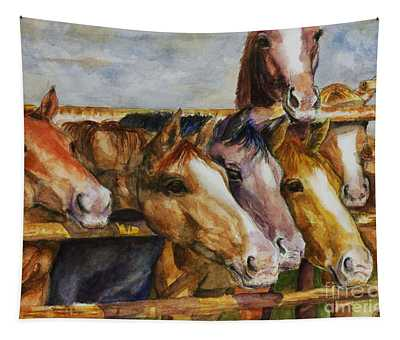 The Colorado Horse Rescue Tapestry