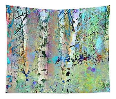 The Colouring Book In The Forest Tapestry