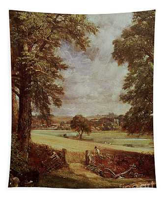 The Cornfield, Detail Of The Harvester, 1826 Tapestry