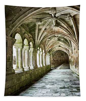 The Corridors Of The Monastery Tapestry