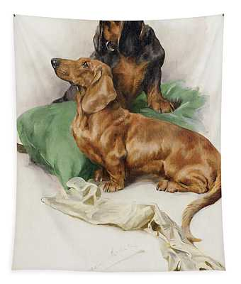 The Dachshunds Tapestry