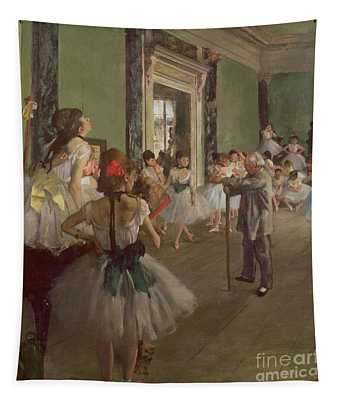 The Dancing Class Tapestry