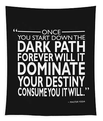 The Dark Path Tapestry