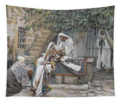 The Daughter Of Jairus Tapestry
