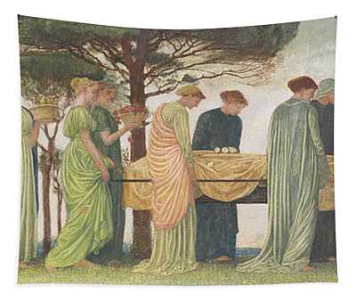 The Death Of The Year Tapestry
