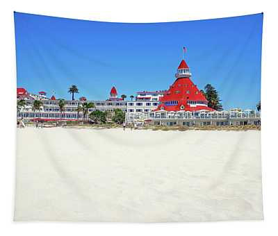 The Del Coronado Hotel San Diego California Tapestry