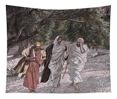 The Disciples On The Road To Emmaus Tapestry