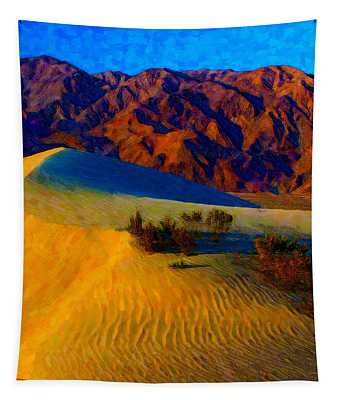 The Dunes At Dusk Tapestry