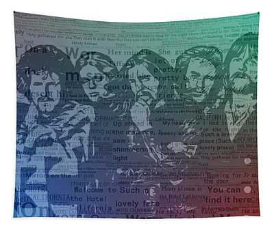 The Eagles Hotel California Tapestry