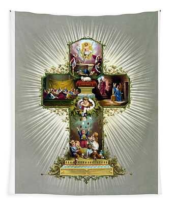 The Easter Cross Tapestry