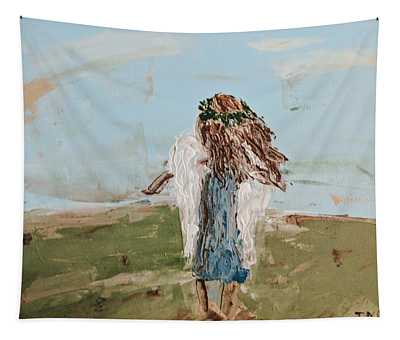 The Edge Of The Field Tapestry