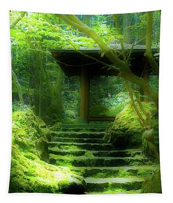 The Emerald Stairs Tapestry