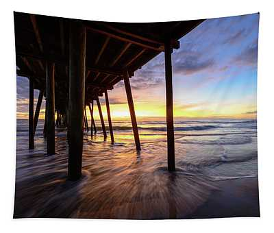 The Enchanted Pier Tapestry