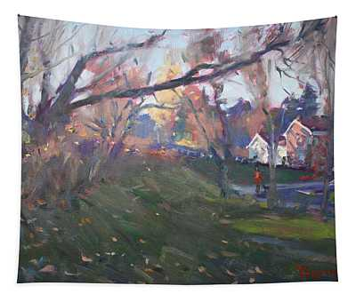 The End Of Autumn Day In Glen Williams On Tapestry