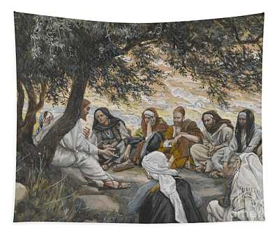The Exhortation To The Apostles Tapestry