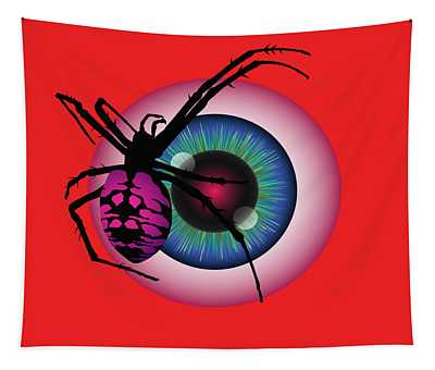 The Eye Of Fear Tapestry
