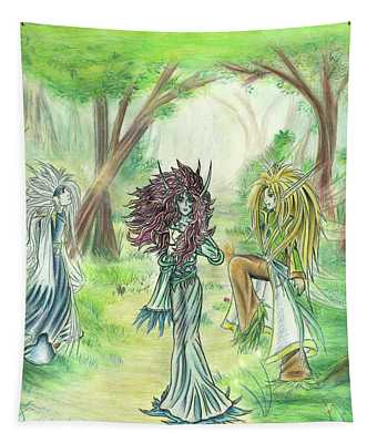 The Fae - Sylvan Creatures Of The Forest Tapestry