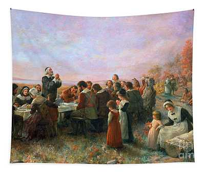 The First Thanksgiving Tapestry