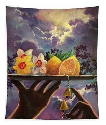 The Five Senses Tapestry