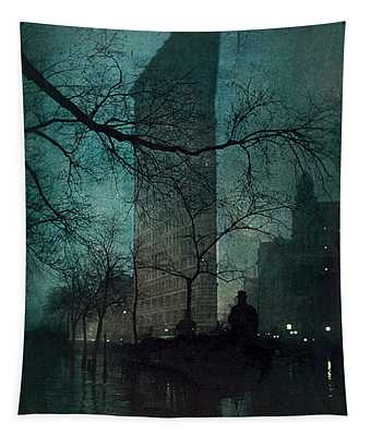The Flatiron Building Tapestry