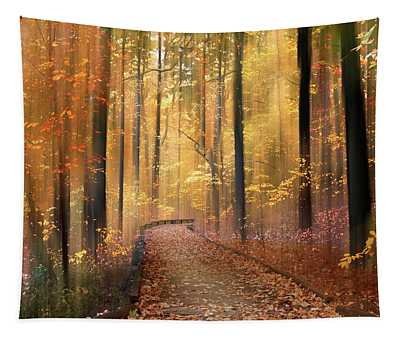 The Flickering Forest Tapestry