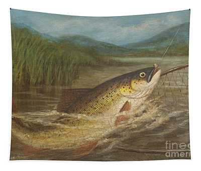 The Fly Fisherman's Net Tapestry