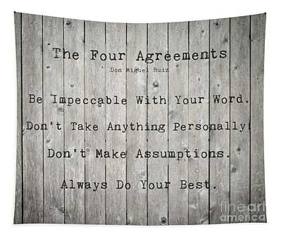 The Four Agreements 12 Tapestry