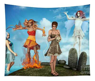 The Four Elements Tapestry