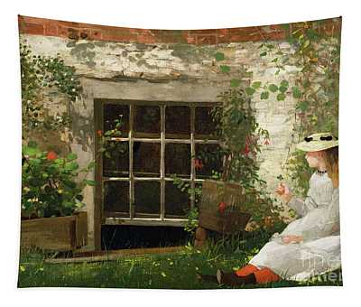 Garden Wall Paintings Wall Tapestries