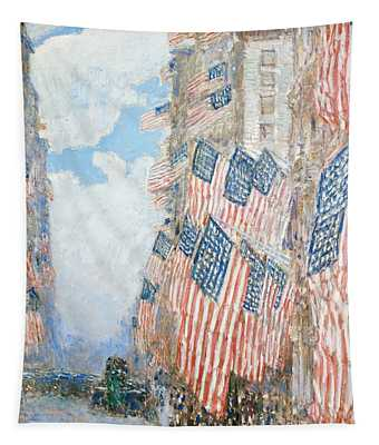 The Fourth Of July Tapestry