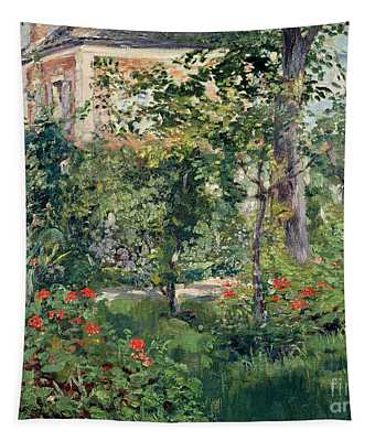 The Garden At Bellevue Tapestry