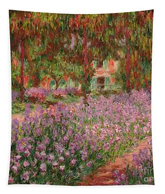 The Garden At Giverny Tapestry