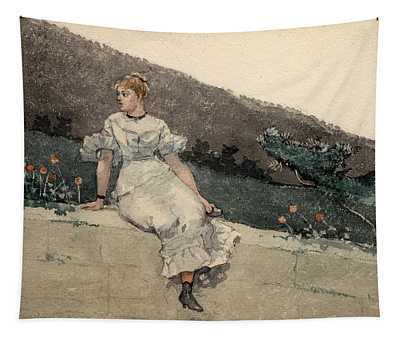 The Garden Wall Tapestry