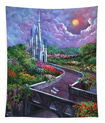 The Glass Slippers Tapestry