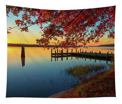 The Glassy Patuxent Tapestry