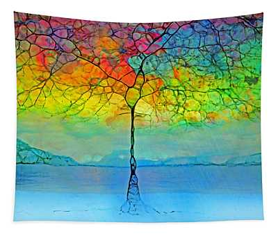 The Glow Tree Tapestry