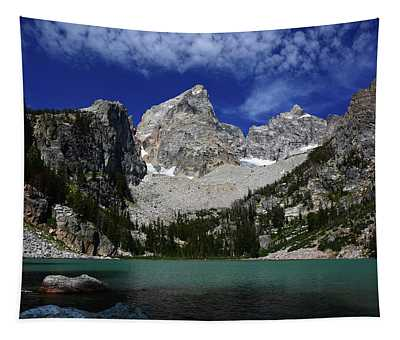The Grand And Mount Owen From Delta Lake Tapestry