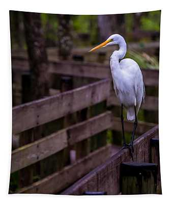 The Great Egret Tapestry