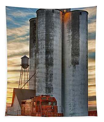 The Great Western Sugar Mill Longmont Colorado Tapestry